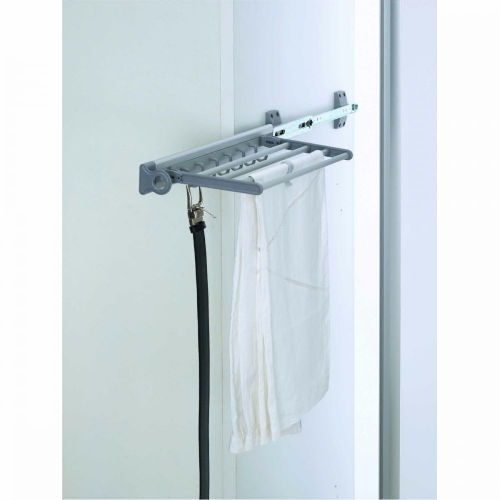 Aluminium Belt And Trouser Rack With Rail